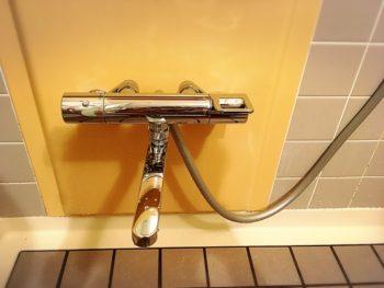新座市 W様 浴室水栓 取替え