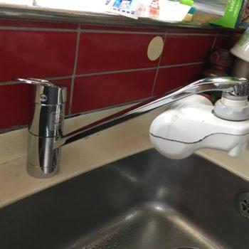 東久留米、西東京市、東村山、清瀬、新座、小平 TOTO 水栓 蛇口 取替 交換 画像