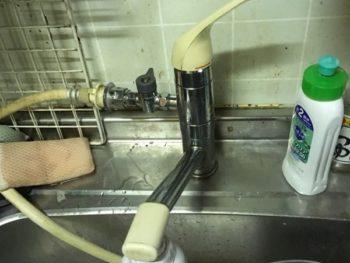 東久留米、西東京、清瀬、東村山 水栓 交換 画像