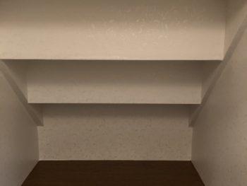 トイレ天井の写真です。
